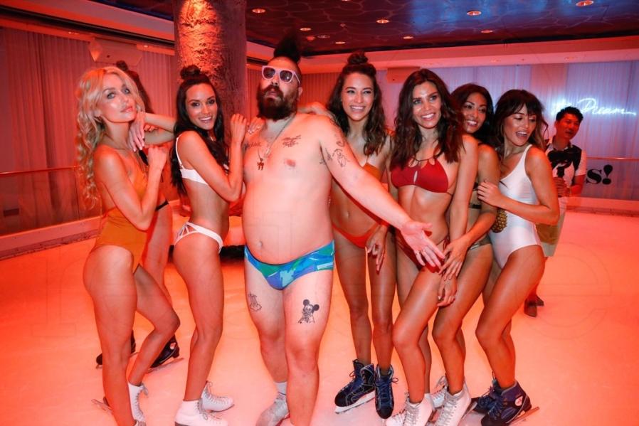 Miami Swim Week. Fat Jewish Treats show at Edition Hotel. Photo by @Bryant