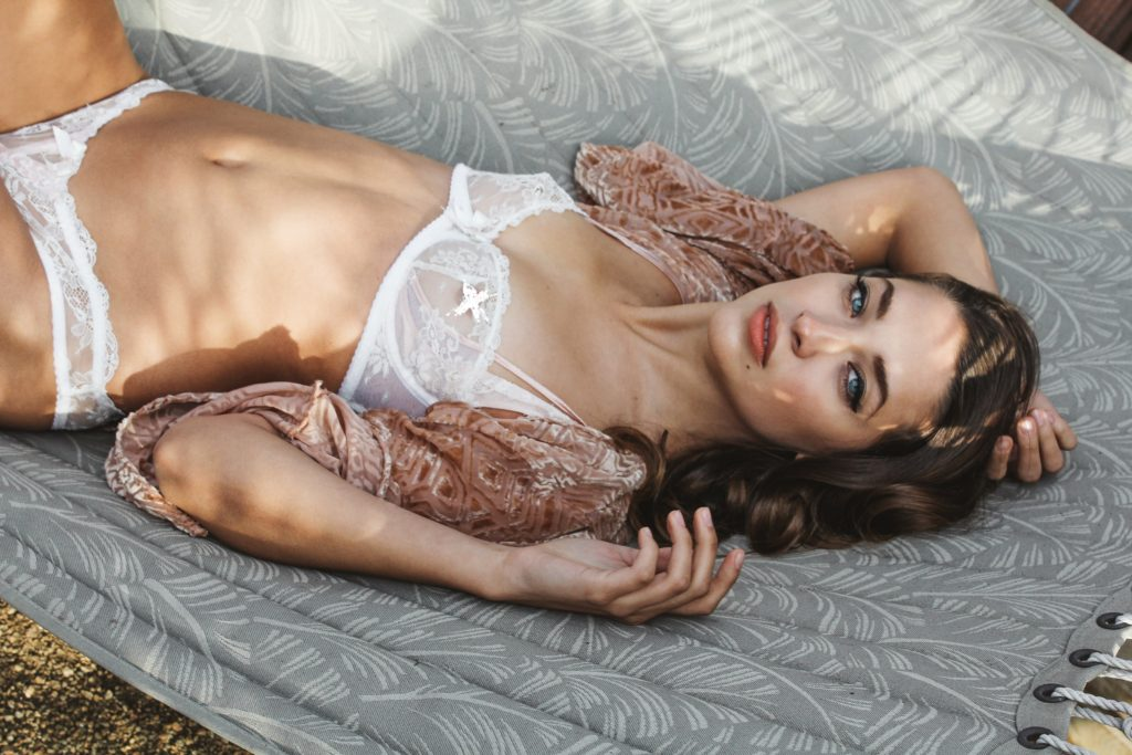 French fashion lingerie editorial. Photos by Rocksea
