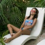 Tropical Island hideaway in Maaji Swimwear. Photos by Samuel.Black