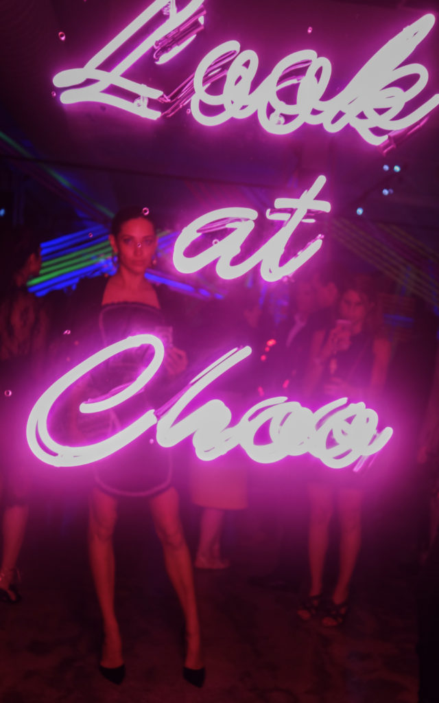 Xenia Mz NYFW spring summer 2017 Jimmy Choo party
