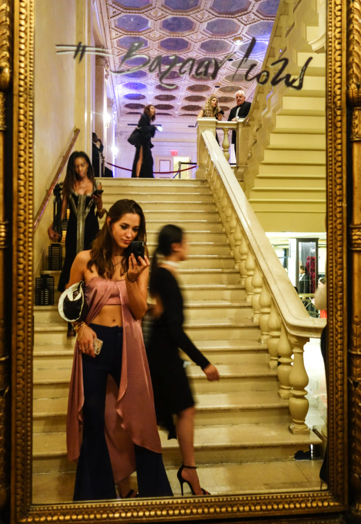 Xenia Mz at Harpers Bazaar Part hosted by Carine Roitfeld at Plaza Hotel.