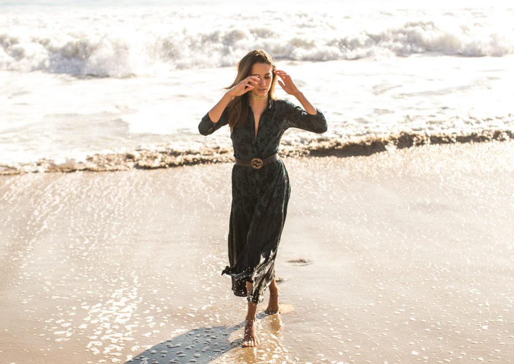 Xenia Mz in Malibu wearing Amuse Society. Photos by Samuel.Black