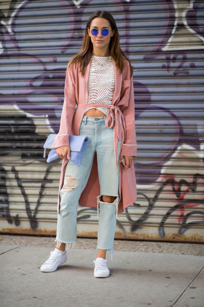 Xenia's NYFW Diaries Part 5 streetstyle fashion. Photo by Chiara Maria Grioni as seen on Fashionista