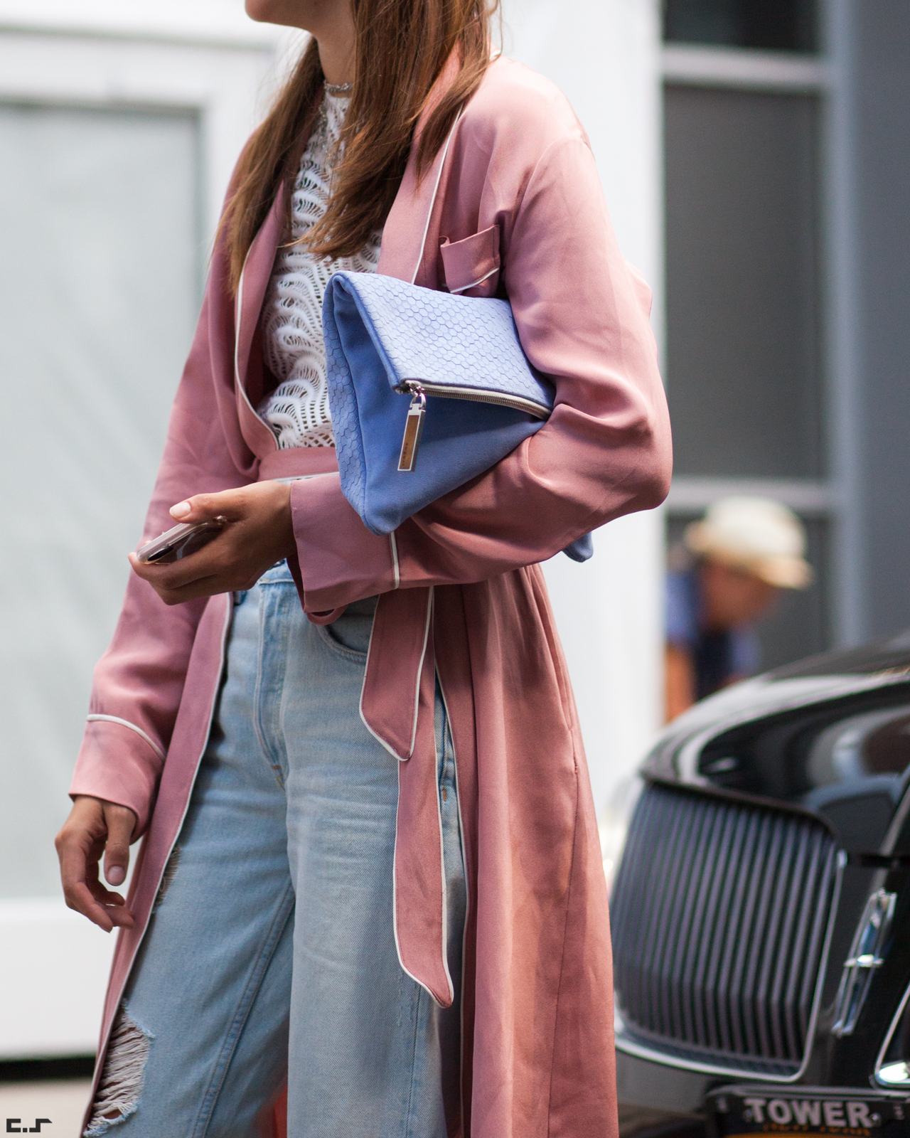 Xenia's NYFW Diaries Part 5 streetstyle fashion. Photo by Chris Smart