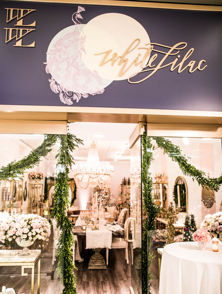 White Lilac Store Opening at South Coast Plaza. Photo by Samuel Lippke