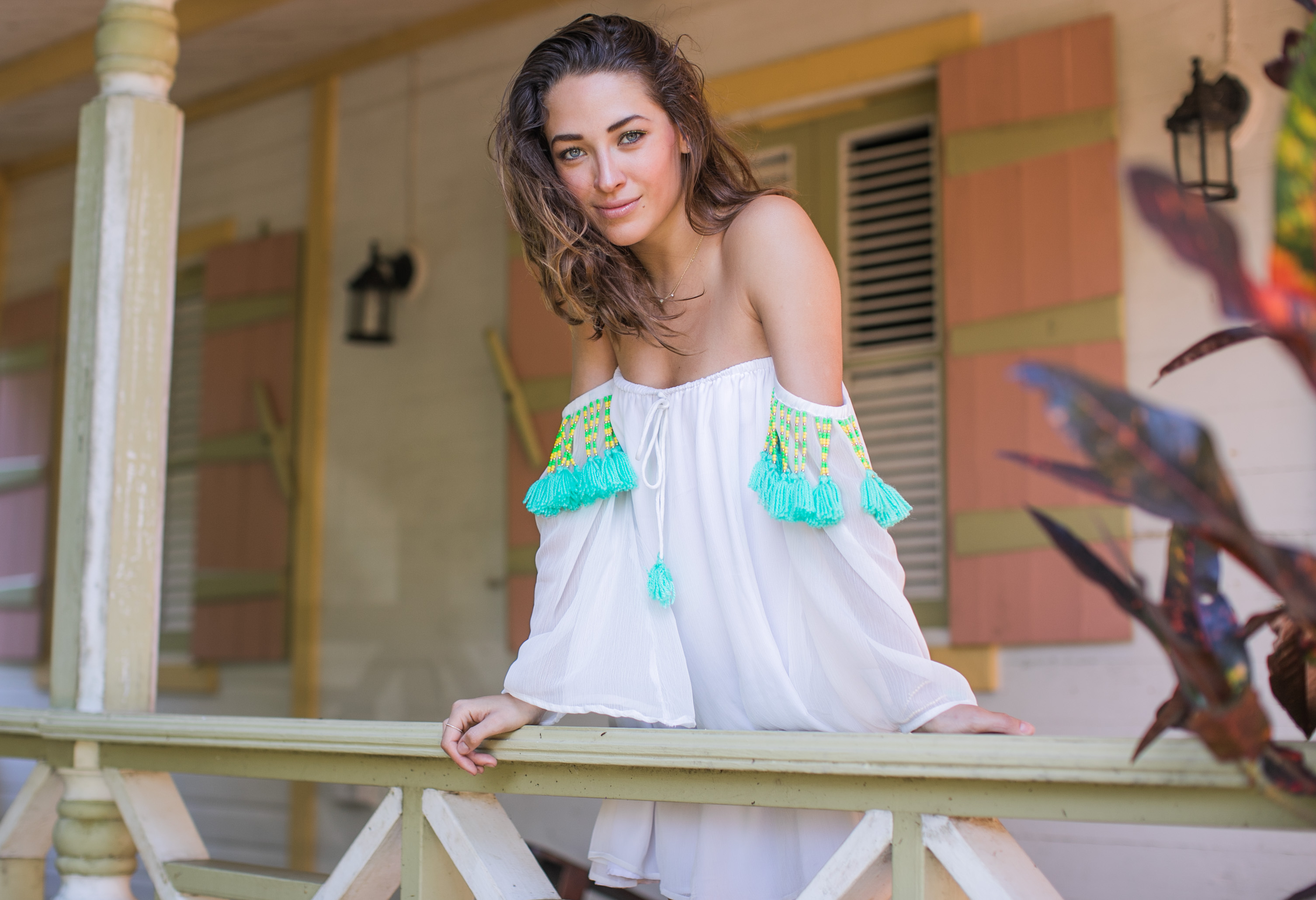 4438dcc3a0 Russian model and blogger Xenia and photographer Samuel Black exploring St  Lucia. Xenia wears Sundress. Fashion Photographer ...