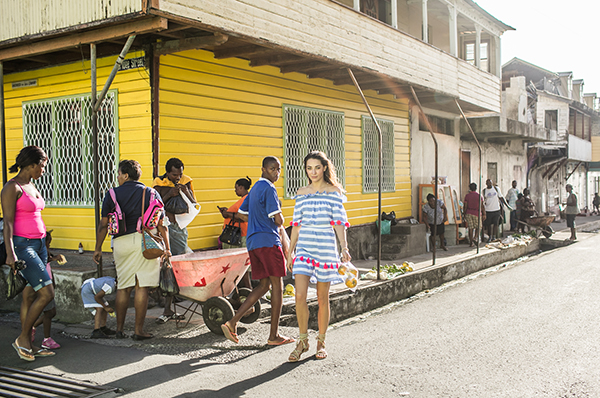 Exploring St. Lucia Villages in Sundress