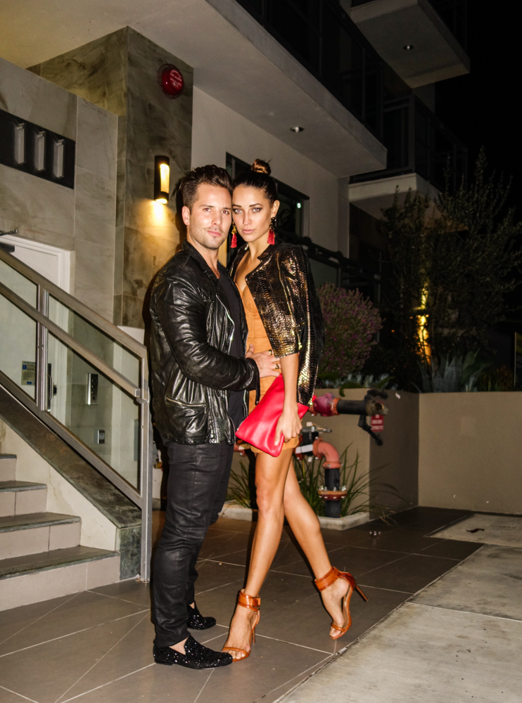 Model Blogger Xenia Mz shares her Friday Night style for the night in Los Angeles with photographer Samuel Black