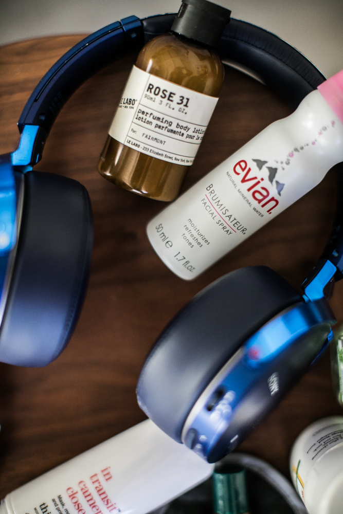 Xenia's Fav Beauty Products for traveling & long flights.